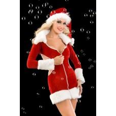 Bayan Seksi Noel Kostüm
