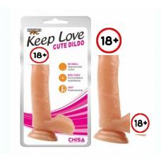 Keep Love 17.8cm Gerçekçi Dildo No4
