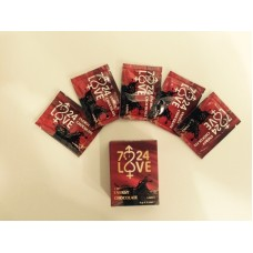 7/24 Love 5li Sıvı Çikolata