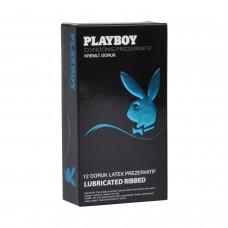 Playboy Ribbed (Doruk) Uyarıcı Yüzeyli Kremli
