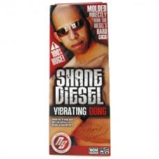 Shane Diesel %100 Gerçekci Vibrating Dildo